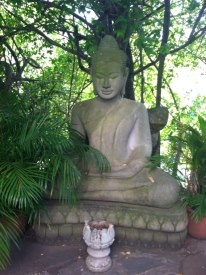 Statue of Buddha in the Royal Gardens